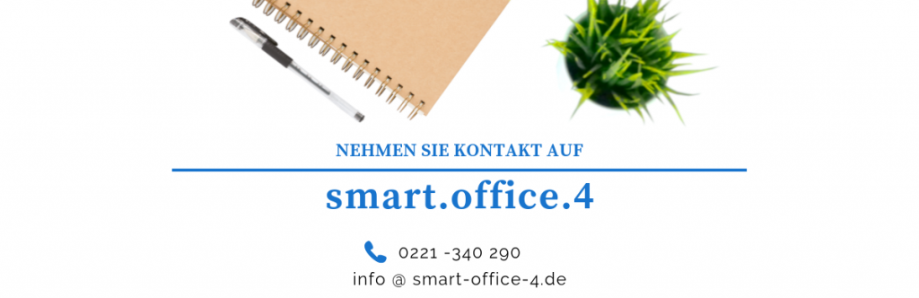 Kontakt Smart office Leistungen
